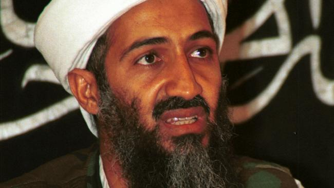 Terrorist Osama Bin Laden. said that Bin Laden was